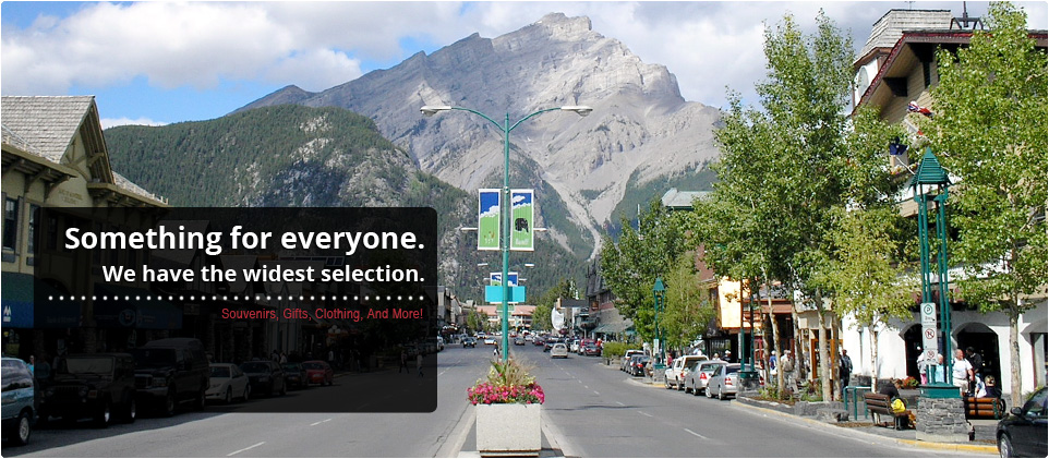 Welcome to Banff Souvenirs!